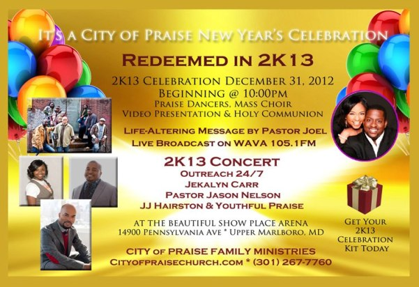 New Year's Eve Celebration at the Show Place Arena!!!