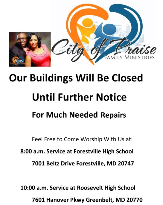 Buildings Will Be Closed pic